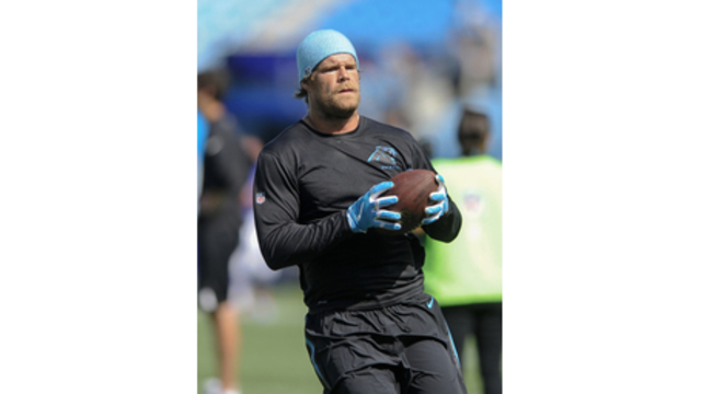 Panthers TE Olsen returns to practice, expected to play