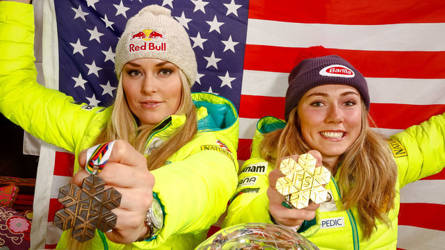 Vonn, Shiffrin speak out against Russian doping