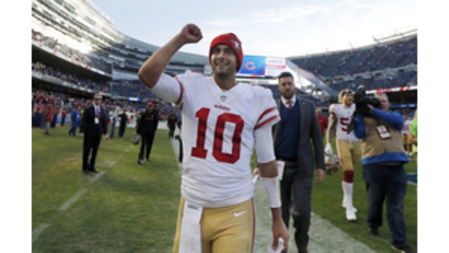 49ers hope defense gets boost from Jimmy Garoppolo addition