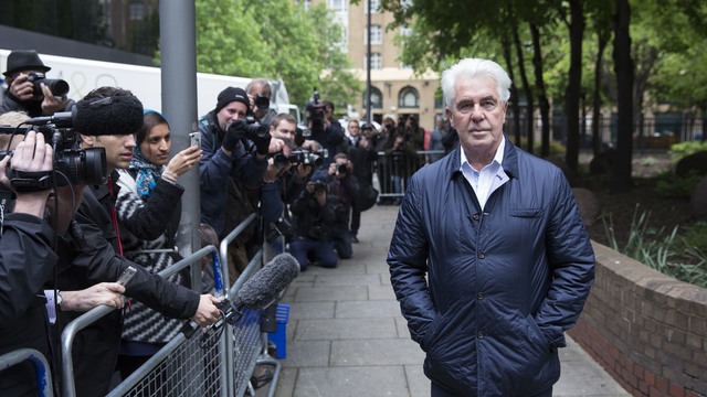 Publicist Max Clifford, King of Spin, died in UK jail52805890