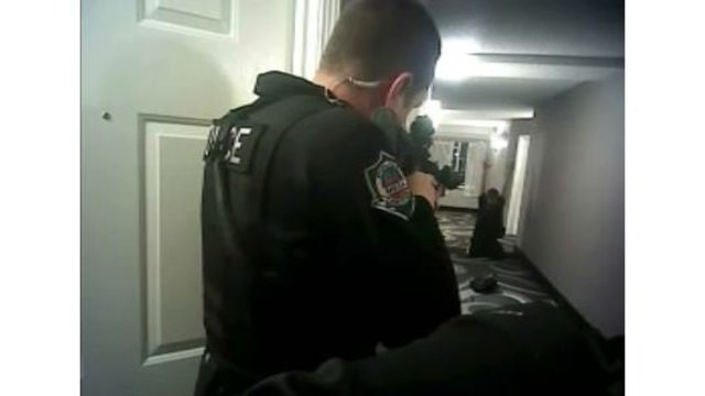 Video Shows Cop Fatally Shooting Unarmed Man in Hotel
