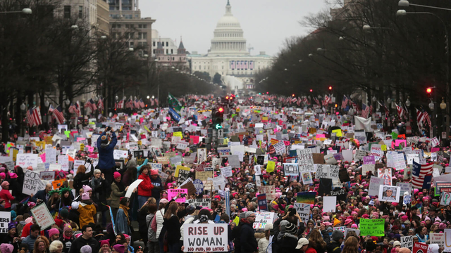 Women's Marches Against Trump, Sexual Misconduct Held Across the Globe