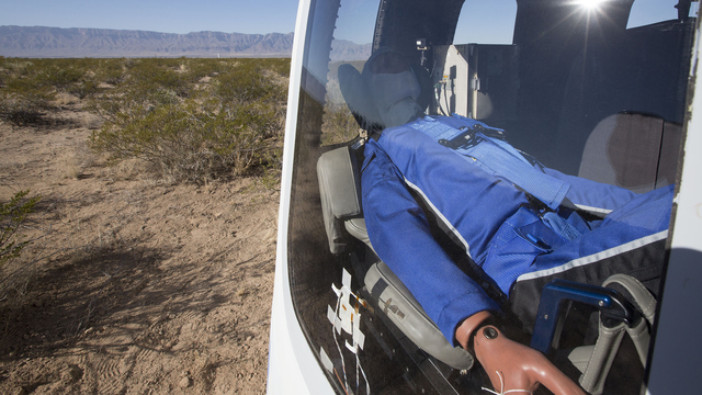 Blue Origin Named Its Space Flight Dummy 'Mannequin Skywalker'