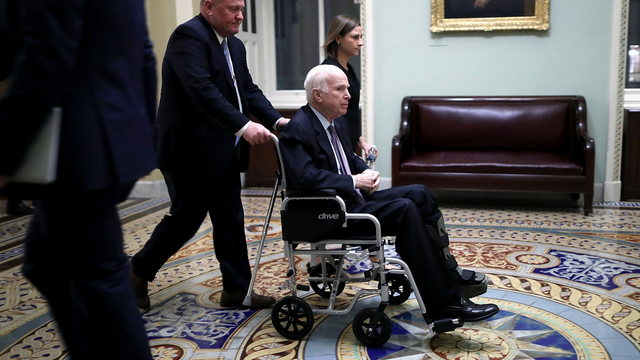 John McCain described as increasingly frail, Senate sources say