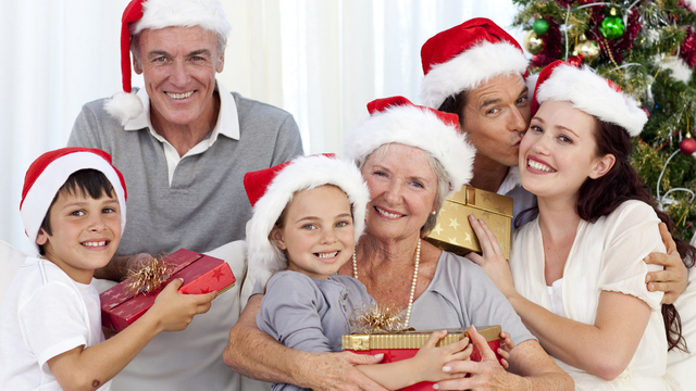 Ways to celebrate family during holidays