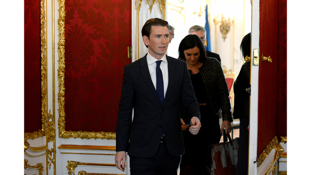 Austria's Sebastian Kurz agrees coalition deal to bring far-right into government