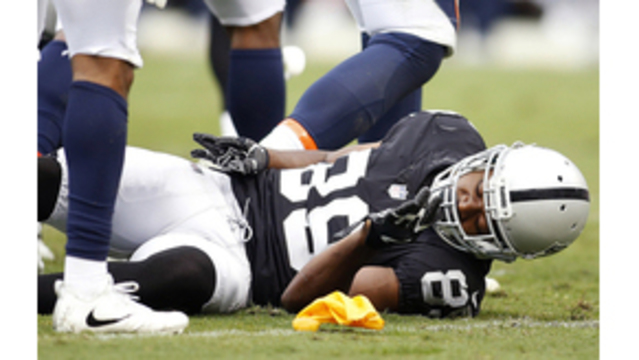 Raiders receiver Amari Cooper won't play against Cowboys