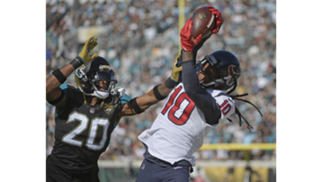Jaguars rout Texans 45-7, clinch 1st playoff berth since '07