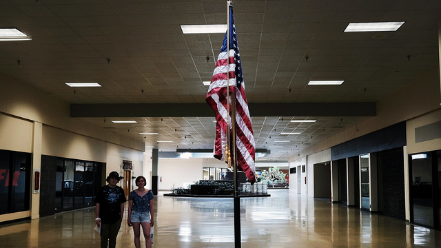 American Flag in Empty Shopping Mall.jpg18138782