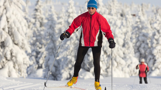 Basic cross-country skiing techniques