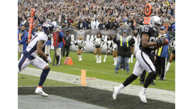 Raiders say there's 'good chance' WR Amari Cooper will play