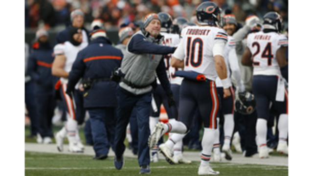 Fox says he's not worrying about future coaching Bears
