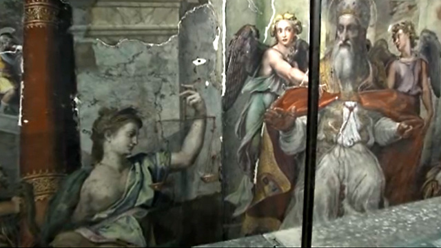 Two Raphael paintings unearthed at the Vatican