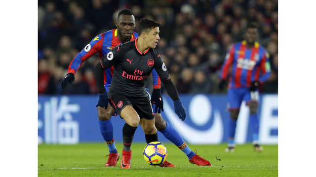 EPL: Alexis Sanchez scores twice as Arsenal defeat Crystal Palace