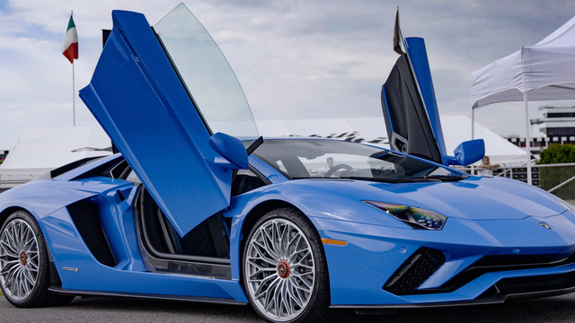 These were the exotic supercars of 2017