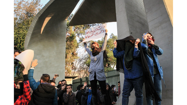 Iran restricts social media as anti-government protests enter 4th day