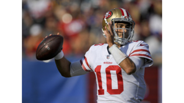 Garoppolo, 49ers beat playoff-bound Rams 34-13