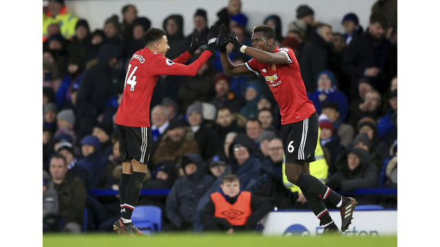 United back to winning ways at Goodison