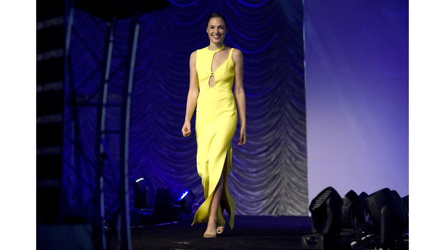 Gadot, Ronan, Janney join Golden Globes black dress protest