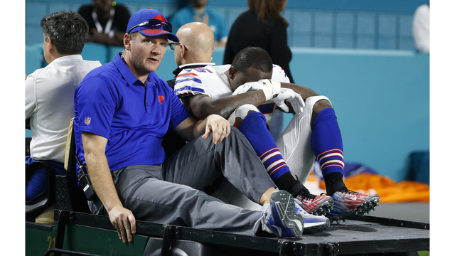 Bills RB McCoy misses practice and listed day to day