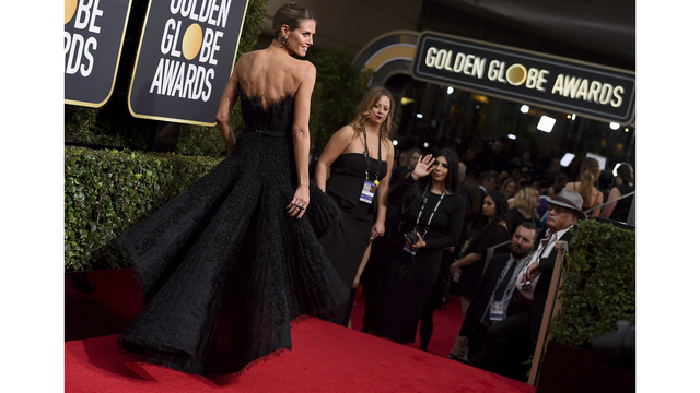 This political accessory was the most-worn item at the Golden Globes