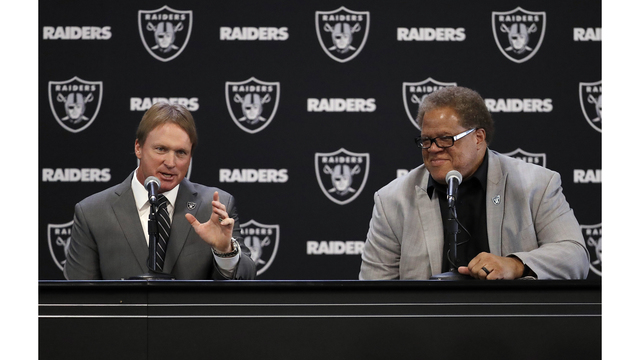 Guenther latest addition to Gruden's staff with Raiders