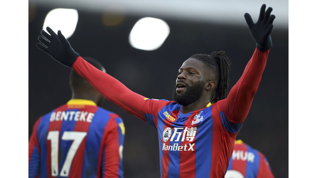 Burnley slump in EPL continues with 1-0 loss at Palace