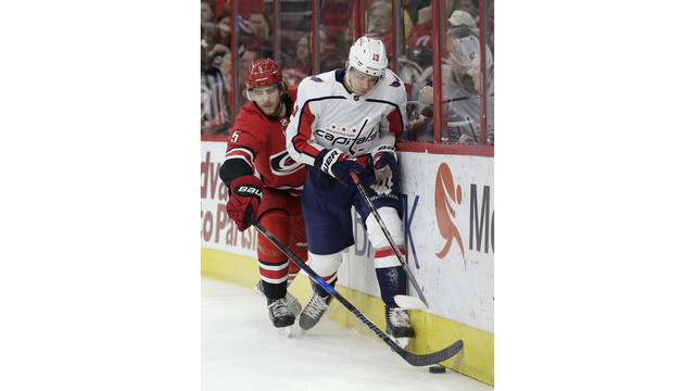 Caps rally, beat Hurricanes on Beagle's goal with 1.3 left