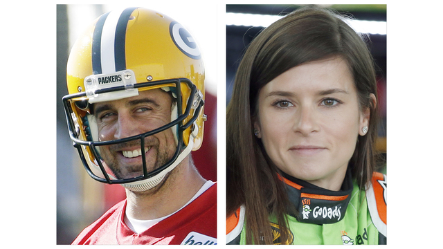 Danica Patrick FINALLY CONFIRMS her and Aaron Rodgers are OFFICIALLY DATING