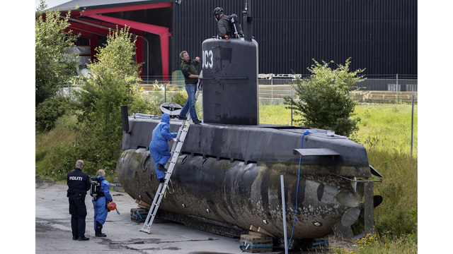 Danish man charged with killing reporter Kim Wall on his submarine