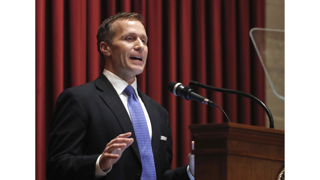 Republican representative calls for Greitens resignation