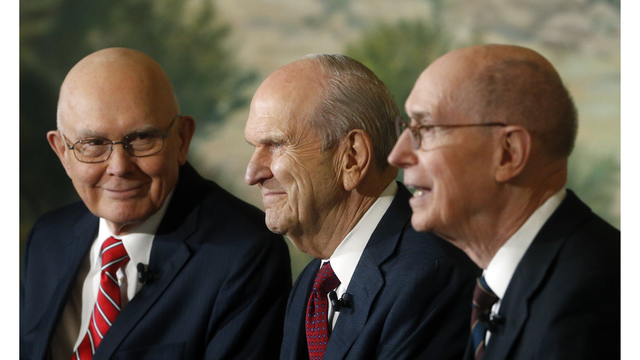 Mormon Church appoints Russell M. Neson as president