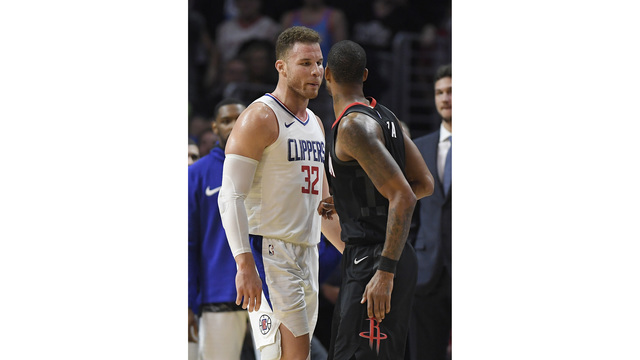 James Harden among trip to push into Clippers' locker room