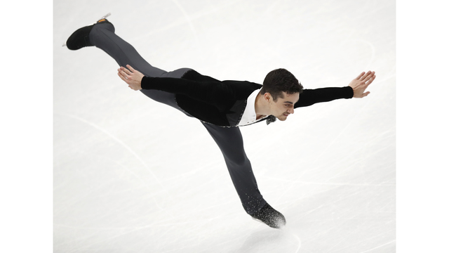 Fernandez leads European figure skating championships