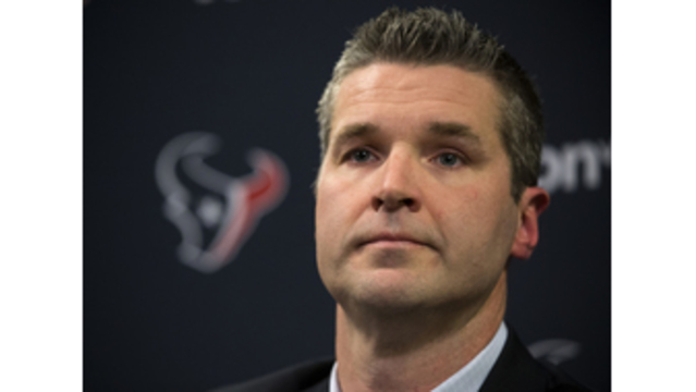 Brian Gaine introduced as Texans general manager