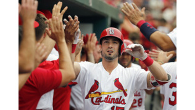 Cardinals trade Grichuk to Toronto for two arms