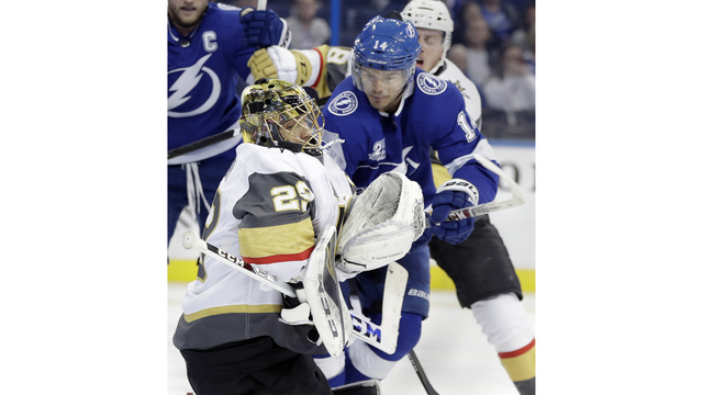 Lightning Return From Bye Week, Lose To Golden Knights