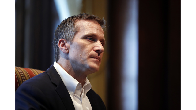 Federal Bureau of Investigation  opened inquiry into Missouri Gov. Eric Greitens