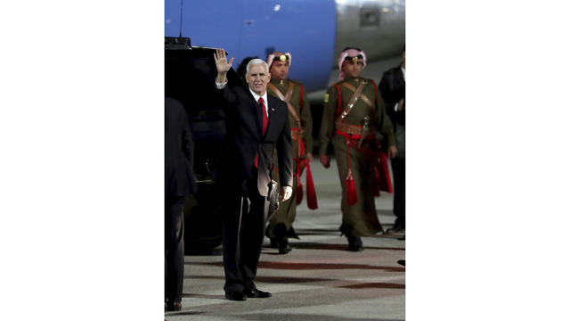 Pence to visit Middle East despite shutdown threat