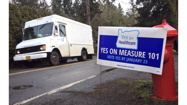 Supporters, opponents rally as Measure 101 vote nears