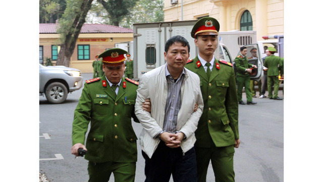 Vietnam jails former oil execs in high-profile graft case