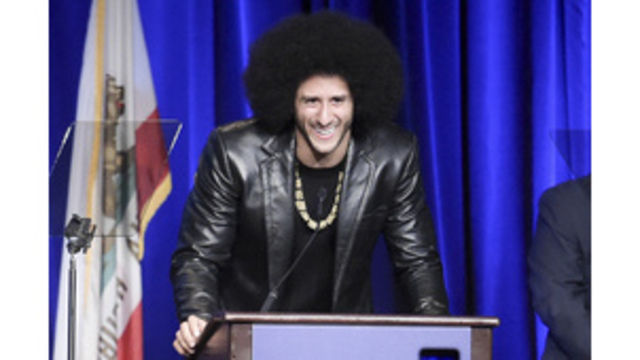 Kaepernick named finalist for NFL Players Association 'Community MVP' award
