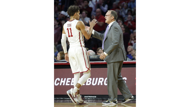 Trae Young's pass makes the difference as Oklahoma beats Kansas