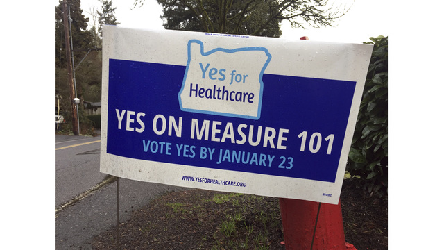 Measure 101 passing handily in statewide count