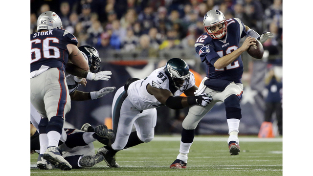 Beating Patriots Brady 2 years ago gives Eagles confidence