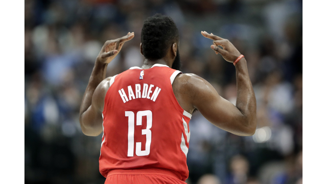 Harden, Rockets down Mavericks on way to orbit