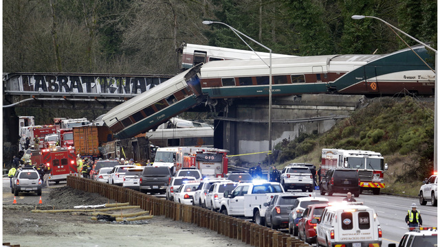 Amtrak engineer says he miscalculated train's location in the deadly crash