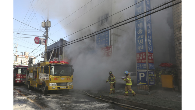 31 dead in South Korean hospital blaze