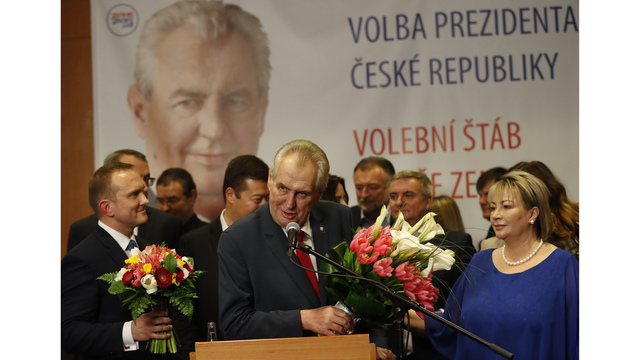 Putin Ally Zeman Wins Second Term as Czech President in Election