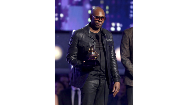 Dave Chappelle Wins Best Comedy Album at the 2018 Grammys